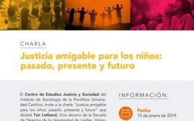 Justicia amigable para los niños: pasado, presente y futuro