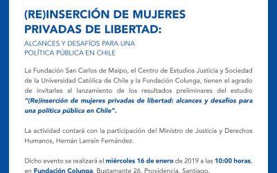 (Re)inserción de mujeres privadas de libertad: Alcances y desafíos para una política pública en Chile