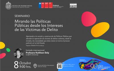 Seminario: «Mirando las políticas públicas desde los Intereses de las Víctimas de Delito»